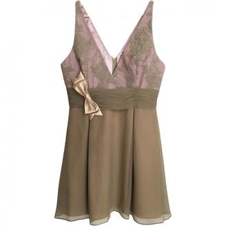 Alex Perry Gold Silk Dresses
