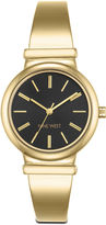Nine West Dorotah Gold-Tone Bangle Watch