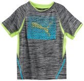 Puma Boys 4-7 Chevron Logo Active Tee