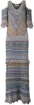 Cecilia Prado knit maxi dress - women - Cotton/Acrylic/Lurex/Polyester - P