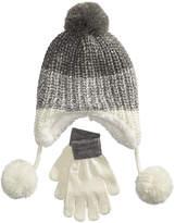 Berkshire 2-Pc. Ombre Heidi Hat & Gloves Set, Little Girls & Big Girls