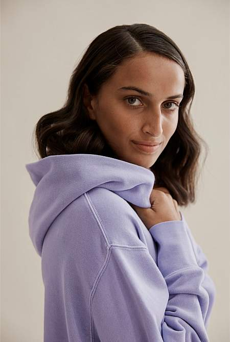 Country Road Relaxed Hooded Sweat