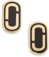 Marc by Marc Jacobs Women's Marc Jacobs Icon Enamel Stud Earrings