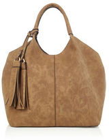 """Oasis MAGGIE TOTE [span class=""""variation_color_heading""""]- Tan[/span]"""