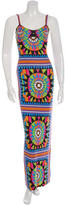 Mara Hoffman Graphic Print Maxi Dress