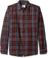 Altamont Men's Binary Long Sleeve Flannel Shirt