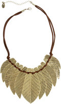 EL BY ERICA LYONS EL by Erica Lyons Womens Gold Over Brass Collar Necklace