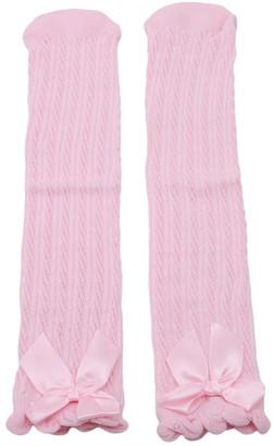 Bigsweety Flat Stockings Pilesock Stockings Cotton Classics Version School Girl Bowknot Socks Tights