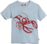 City Threads Lobster Graphic Tee (Toddler/Kid) - Faded Blue-12