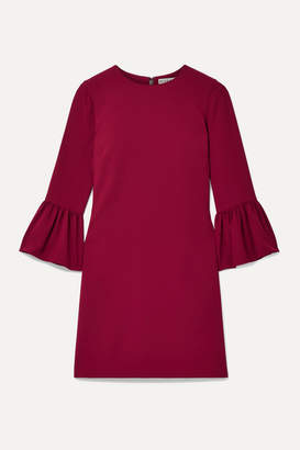 Alice + Olivia Coley Crepe Mini Dress - Claret