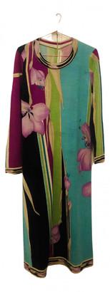 Leonard Blue Wool Dresses