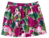 Gymboree Corduroy Floral Skirt
