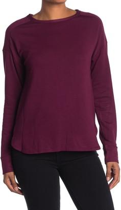 Donna Karan Dolman Sleeve Lounge Pullover