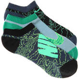 Nike Boys Graphic Cush Youth No Show Socks - 3 Pack -Multicolor