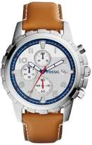 Fossil Dean FS5069 White Dial Watch