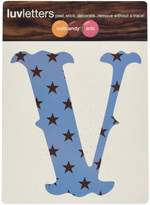 Wall Candy Arts WallCandy Arts Luv Letters Stars V, Pink/