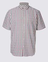 Marks and Spencer Modal Rich Checked Shirt