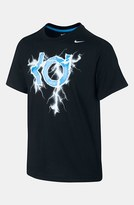 Nike 'KD - Lightning' T-Shirt (Big Boys) Black Large