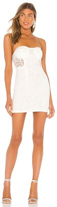 superdown Lian Strapless Mini Dress