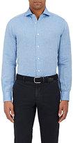 Barba Men's Linen-Cotton Shirt