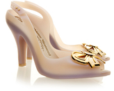 Melissa Lady Dragon Aurora Pearl Bow Court Shoe