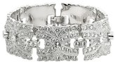 Nina Swarovski Crystal Filigree Link Bracelet