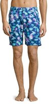 Peter Millar Moon Jellies Swim Trunks, Blue