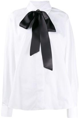 Alexandre Vauthier Bow Neck Shirt