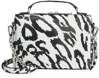 Calvin Klein Cube Cheetah-Print Box Crossbody Bag
