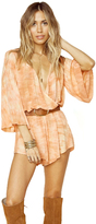 Blue Life Wild and Free Romper in Moonrock