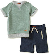 7 For All Mankind Baby Boys 12-24 Months Tee & Shorts Set