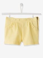 Girls Fancy Shorts - light yellow, Girls | Vertbaudet
