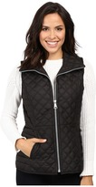 "Andrew Marc Arielle 25"" Polyfill Quilt Vest"
