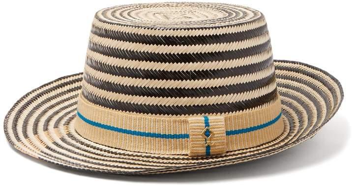 Yosuzi Mateo straw hat