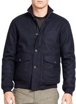 Polo Ralph Lauren Wool Blend Down Skeet Jacket