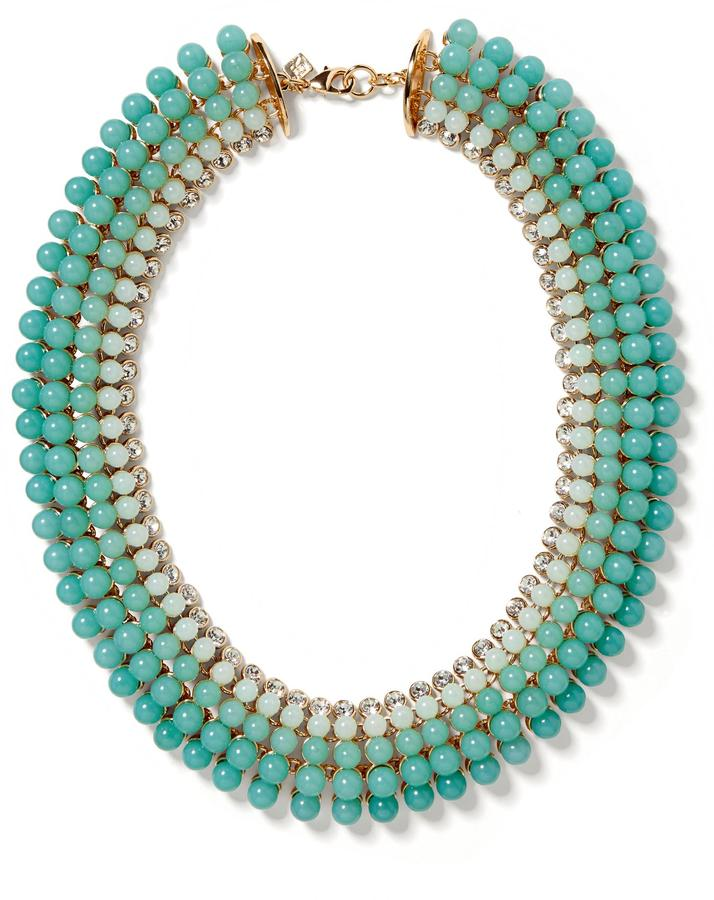 Banana Republic Aqua Ombre Necklace