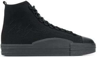 Y-3 Yuben Mid canvas sneakers