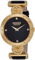 Versus By Versace Women's SOL040015 SUNNYRIDGE Analog Display Quartz Black Watch