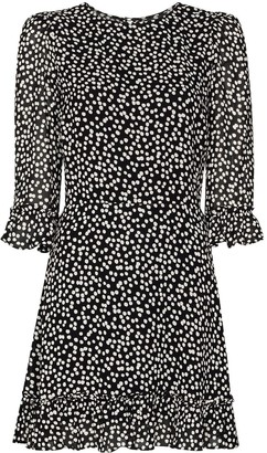 Reformation Doutzen polka-dot mini dress