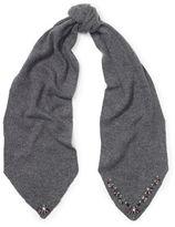 Ralph Lauren Jeweled Wool-Blend Scarf