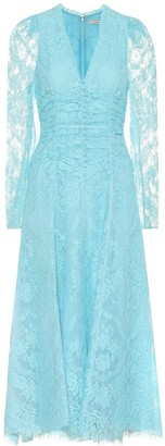 Erdem Annalee cotton-blend lace dress