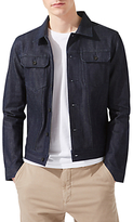 Jigsaw Japanese Selvedge Denim Jacket, Indigo