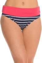 Beach House Swimwear Skipper Stripe Fold Over Bikini Bottom 8122483