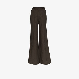 Lemaire High Waist Flared Trousers