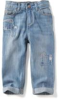 Old Navy Rip & Repair Boyfriend Jeans for Toddler Girls