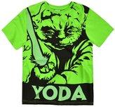 Star Wars Boys Short Sleeved Yoda TShirt New Kids Official Top