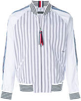 Tommy Hilfiger striped bomber shirt