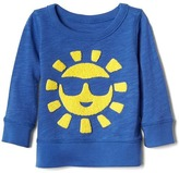 Sunny slub pullover