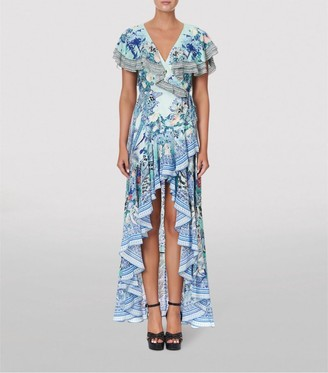 Camilla Silk Wings Of Luxor Maxi Dress