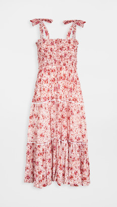 Poupette St Barth Smocked Dress